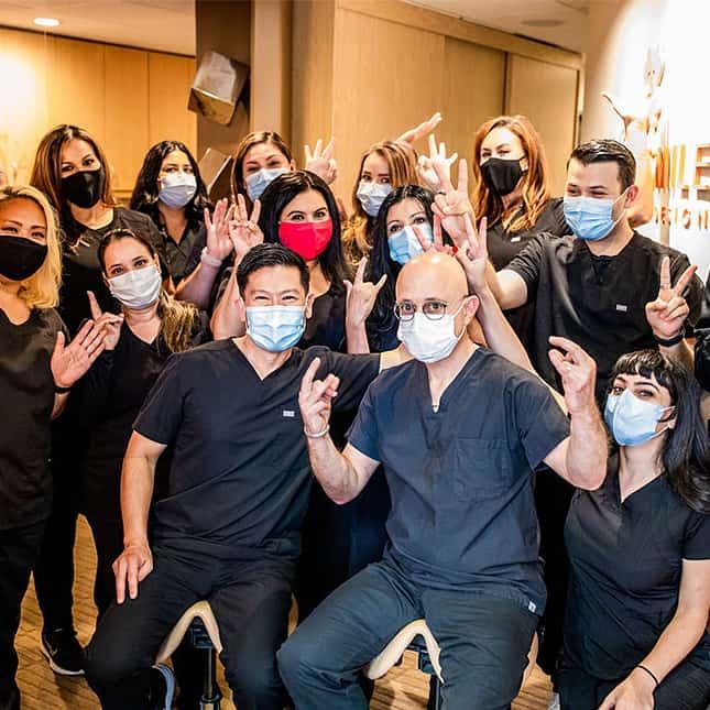 La Jolla Family Smile Design Staff