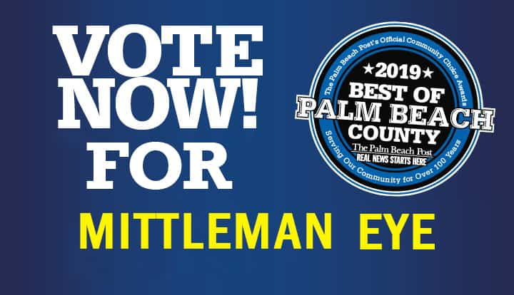 Vote to Make Mittleman Eye the Best of Palm Beach County!