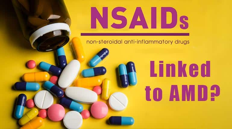 Study Examines NSAID Use Linked to AMD?