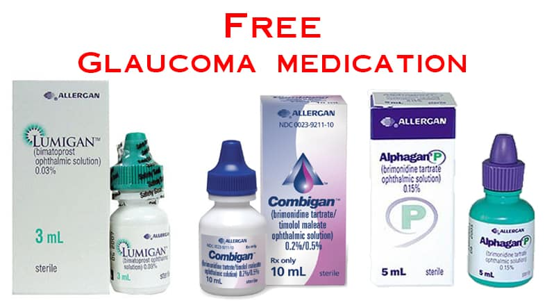 Free Glaucoma Medication – Limited Time Offer