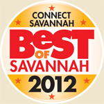Best of Savannah 2012 award