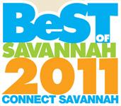 Best of Savannah 2011 award