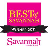 Best of Savannah 2015 award